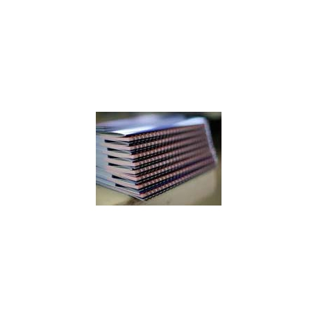 Kleur A-4 wire-o lesmateriaa
